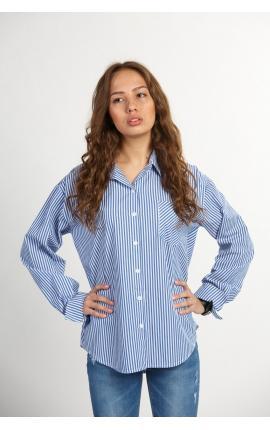 Рубашка в крупную полоску