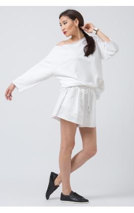 Спорт-костюм с шортами Sin Prosa Sin Pausa белый